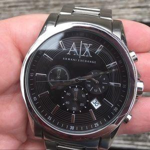 🏆 Mens Armani Exchange Chronograph Watch AX2084